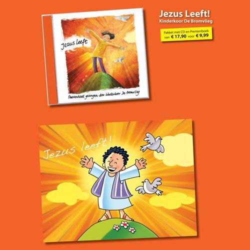 Jezus leeft (CD en prentenboek)