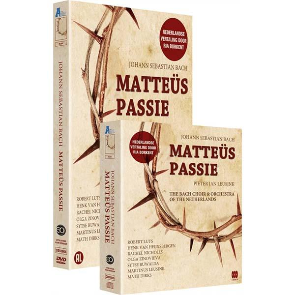 Matteus Passie CD/DVD combi